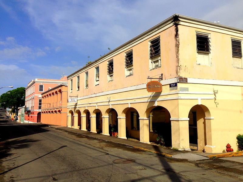Die kleine und gemütliche Hauptstadt Christiansted