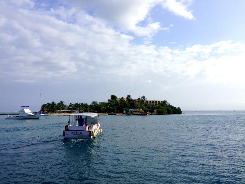 Protestant Cay gegenüber der Altstadt von St. Croix