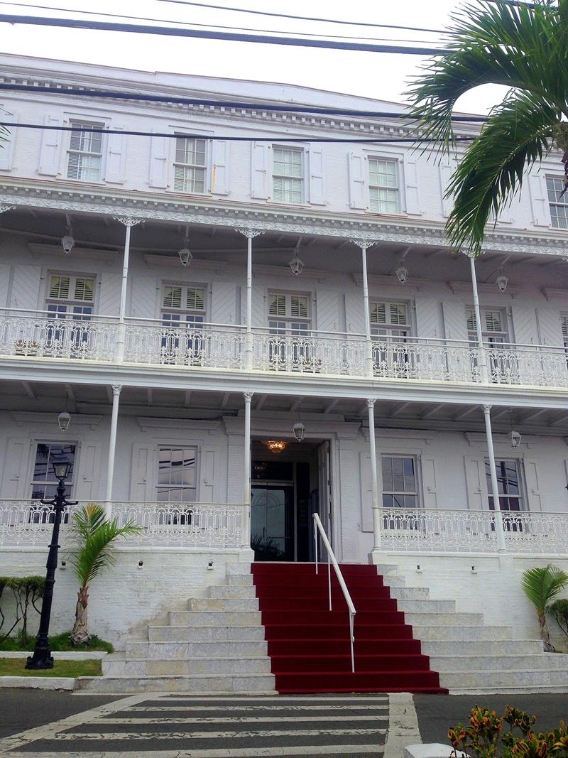 Der Regierungssitz von St. Thomas in Charlotte Amalie