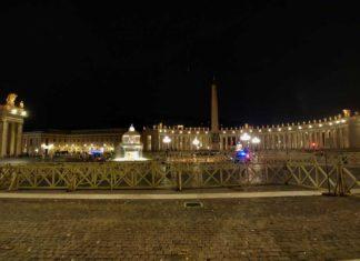 Impressionen aus dem Vatikan – der heilige Staat bei Nacht