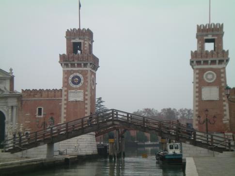 Das Arsenal von Venedig