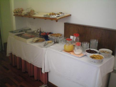 Das Frühstücksbuffet im Hotel alla Giustizia in Venedig