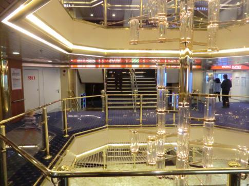 Innenbereich der MS Mariella von Viking Line