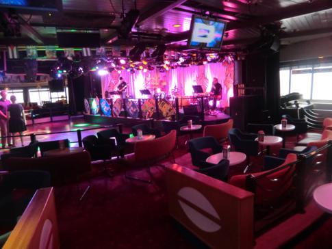 Die Lounge der MS Mariella von Viking Line