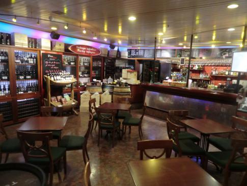 Eines der Restaurants auf der MS Mariella von Viking Line