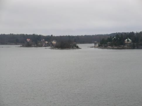 Die Schärenlandschaft vor Stockholm