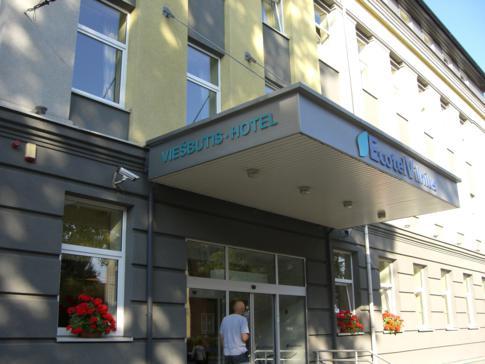 Außenansicht des Ecotel Vilnius
