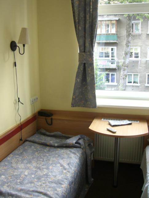 Einzel- bzw. Twinbettzimmer im Ecotel Vilnius