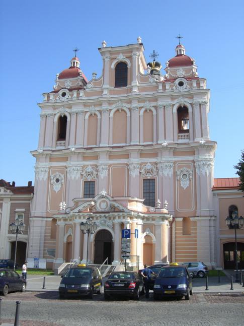 Die Kasimirkirche, die vielleicht schönste Kirche in Vilnius