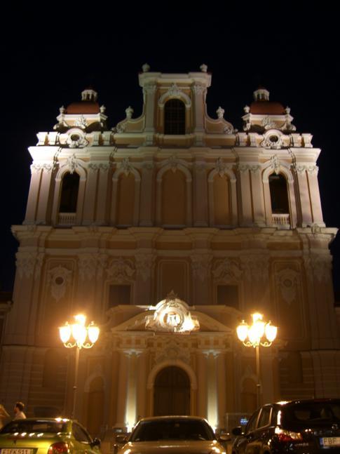 Die Kasimirkirche am Abend