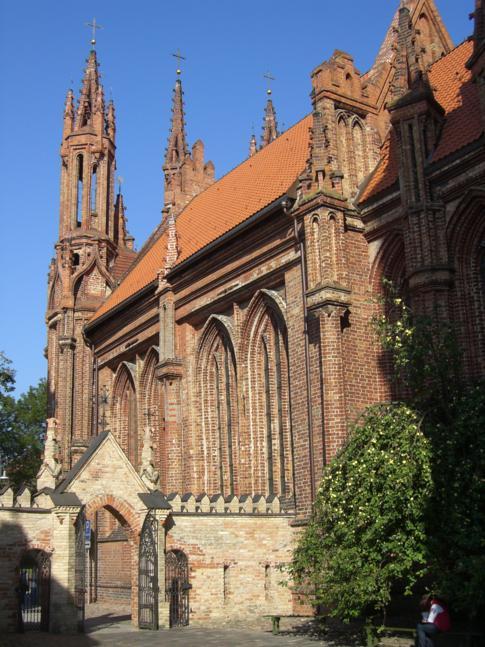 Die St. Annenkirche In Vilnius