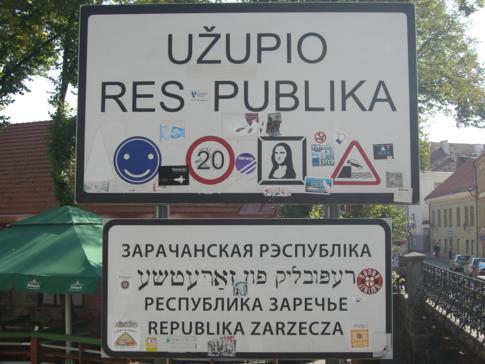 Das alternative Viertel Uzupis