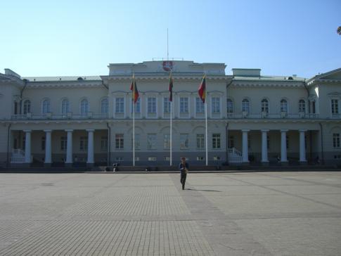 Der Präsidentenpalast von Litauen