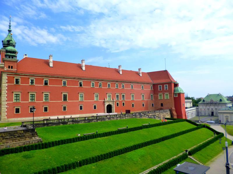Das wieder aufgebaute Königsschloss von Warschau