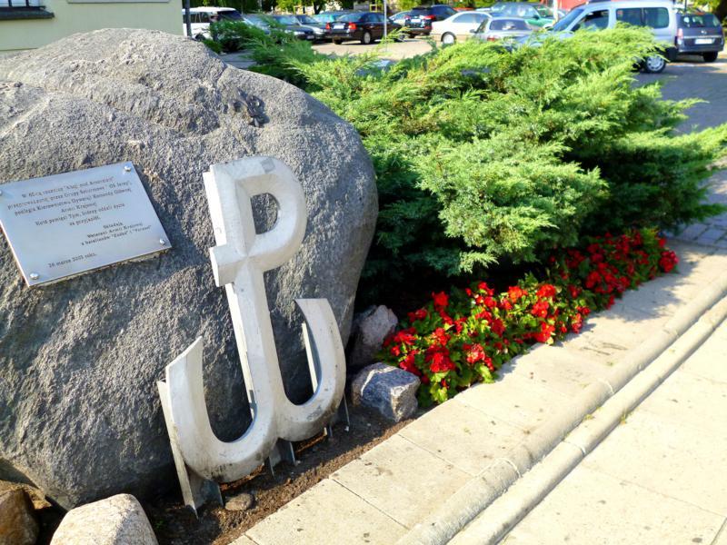 Das Symbol PW für den Warschauer Aufstand