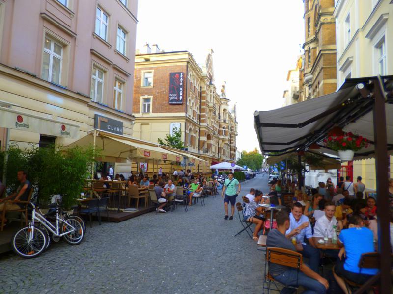 Cafes und Restaurants in der Hauptstadt von Polen