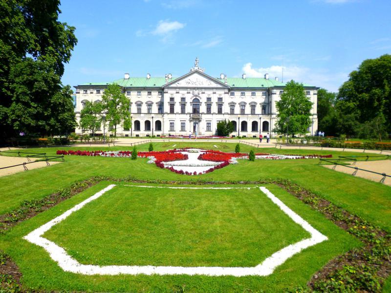 Der Krasinski Park in Warschau