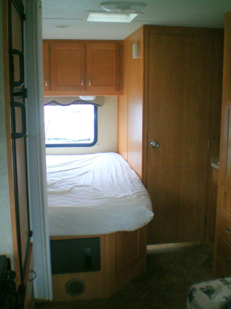 Der Innenraum eines Wohnmobils von CanaDream
