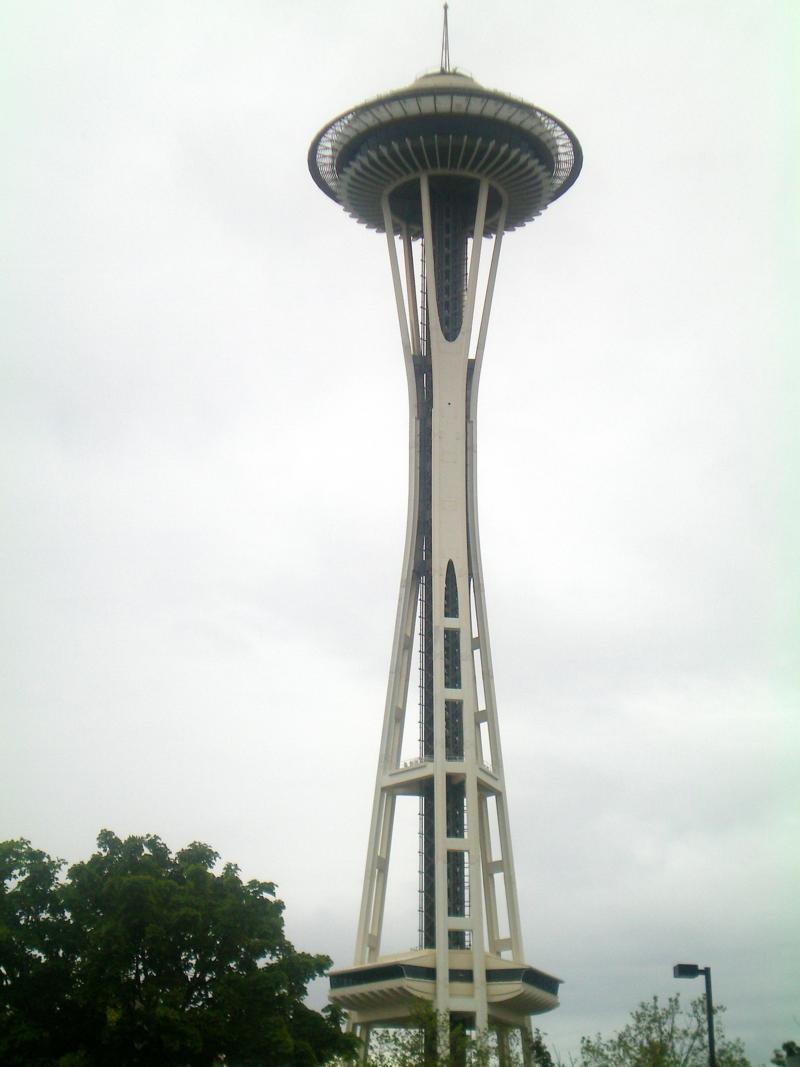 Das Space Needle, Wahrzeichen von Seattle