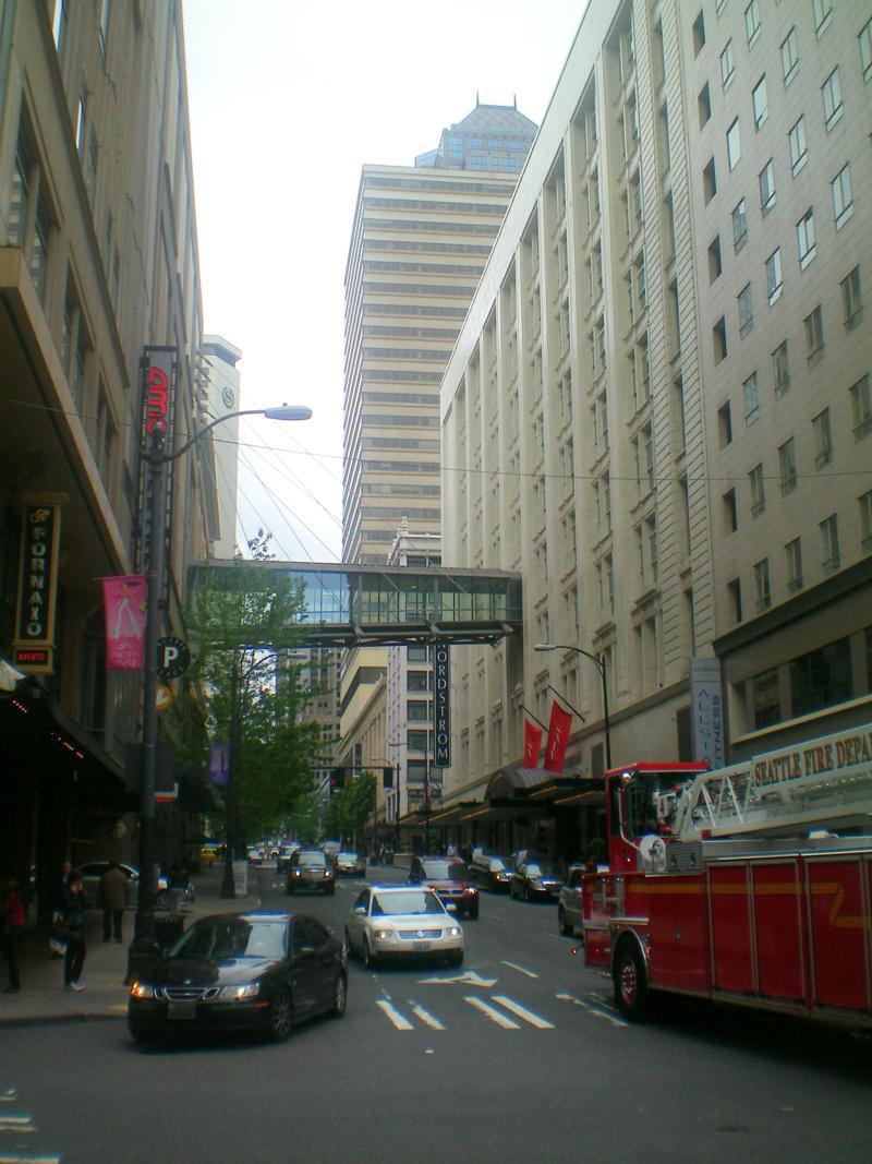 Eindrücke aus Downtown Seattle in Washington State