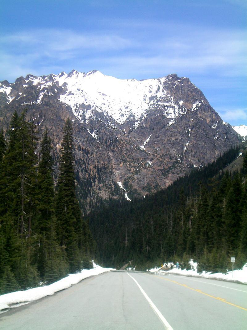 Der Rainy Pass im North Cascades National Park