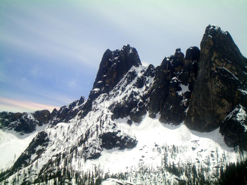 Der Washington Pass im North Cascades National Forest