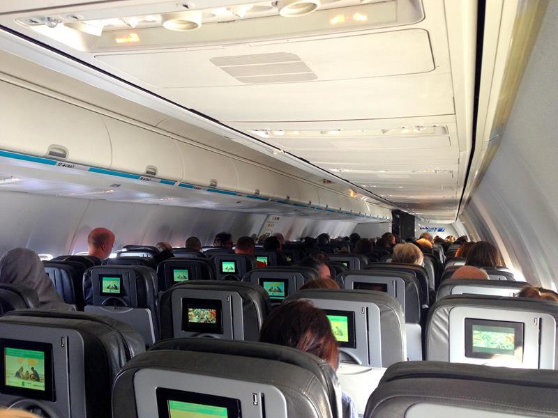 Mit Westjet auf dem Weg von Orlando nach Toronto