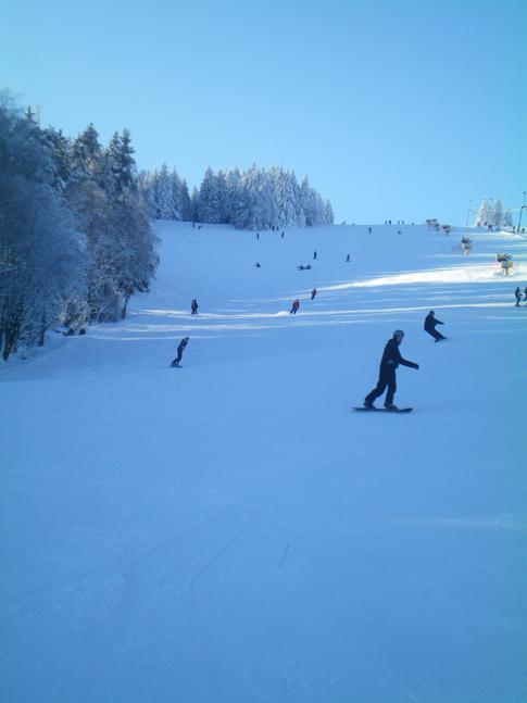 Der Wilddiebhang im Skigebiet Willingen
