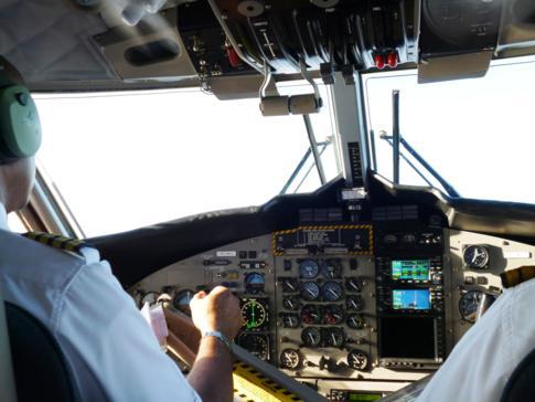 Mit Winair auf dem Weg von St. Maarten nach Saba