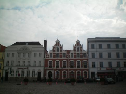 Der Markt von Wismar