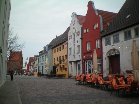Der Lohberg, Kneipenmeile von Wismar