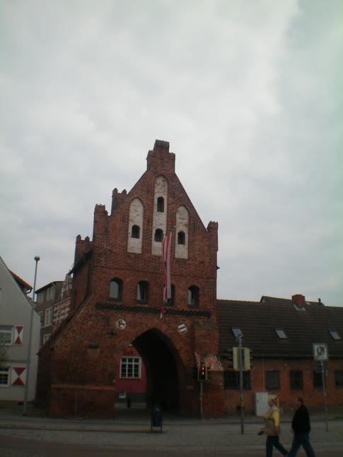 Das Wassertor von Wismar