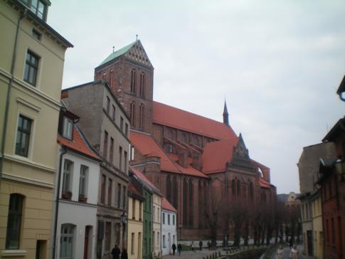 Die Nikolaikirche von Wismar
