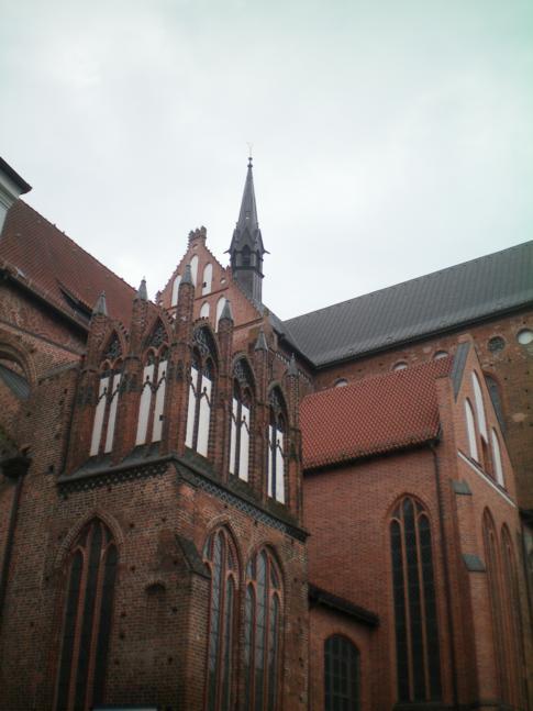 Die Georgenkirche von Wismar