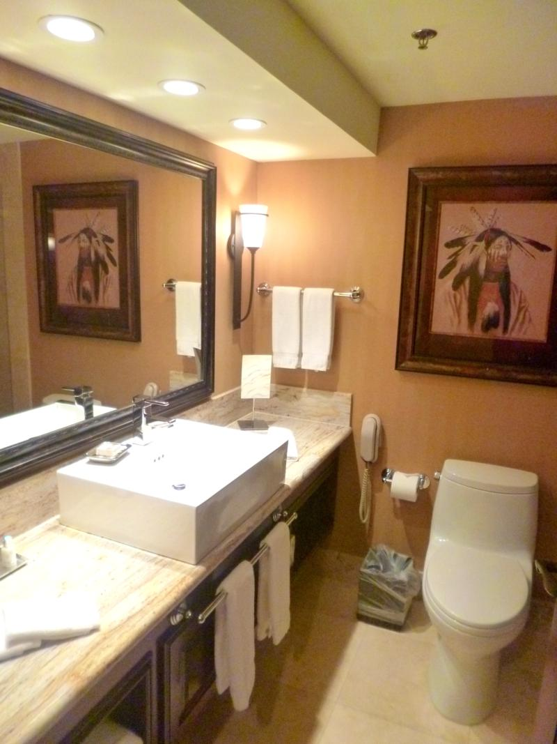 Modernes Badezimmer in der Lodge at Jackson Hole