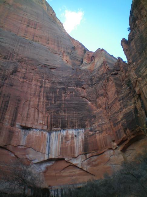 Beeindruckende Felswände im Zion Canyon