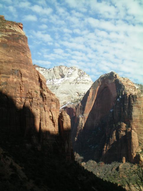 Wahnsinniger Ausblick im Zion Canyon vom Emerald Trail